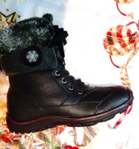 Ботинки зимние .  40