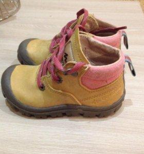 Детские ботиночки весна-осень
