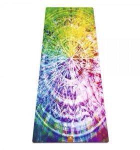Коврик для йоги и фитнеса МАНДАЛА Art Yogamatic