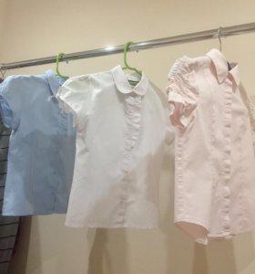 Блузы 134 рост