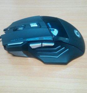 Игровая мышь новая