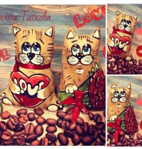 Кофейные котики