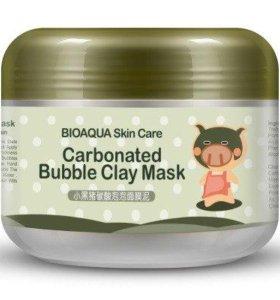 Пузырьковая маска для лица