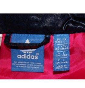 Пуховик/куртка зимний для девочки Adidas Рост 158