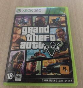 GTA 5 на x box 360