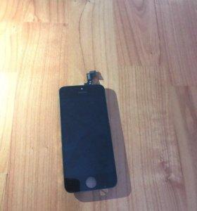 Экран, дисплей на iPhone 5s