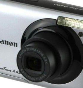 Цифровой фотик Canon A490