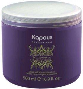 Маска для волос с маслом ореха макадамии