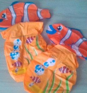 """Нарукавники надувные детские. """" Рыбка"""""""
