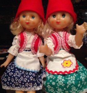 Шарнирные куколки ссср 32 см
