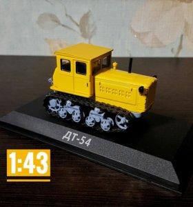 Модель трактора ДТ-54 + журнал