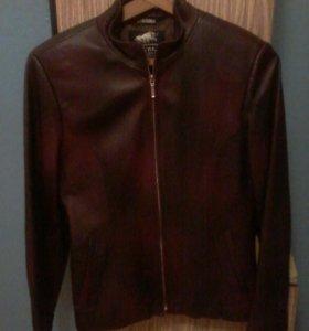 Осенная куртка натуральная кожа