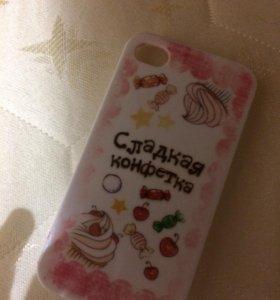 Чехол на айфон 4s))