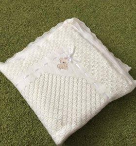 Одеяло конверт на выписку или в коляску