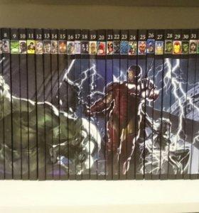 Комиксы Marvel Hachette Collection 1-41