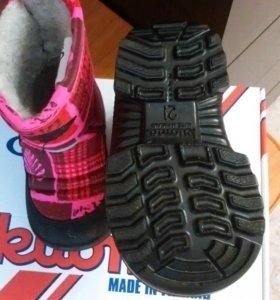 Ботинки детские kuoma