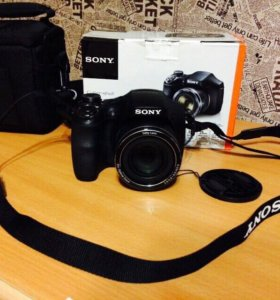 Фотоаппарат Sony DSC-H300 16gb памяти + сумка