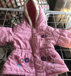 Курточка осенне-весенняя 9-12мес