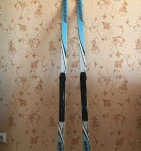 Лыжи с ботинками классические