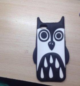 Чехол сова на айфон 5 и 5s