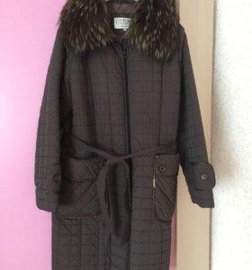 Пальто зимние 54-56