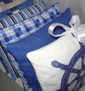 Бортики в кроватку +Подарок