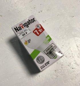 Светодиодная Энергосберегающая лампа 7 вт
