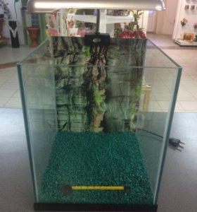 Аквариум нано куб 20литров