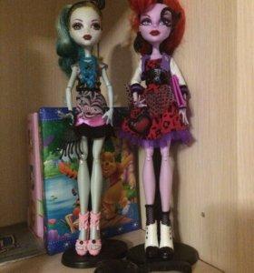 2 куклы Monster Hight