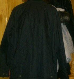 Куртка осенняя. Почти новая. ХXL.