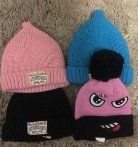 шапки новые Ю Корея 89084473276