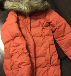 Куртка пуховая женская jack wolfskin