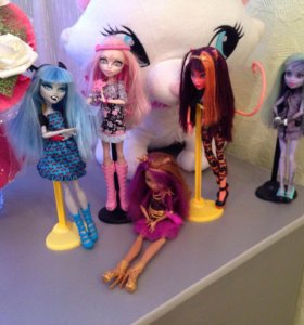 Куклы монстер хай 5 штук