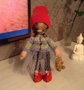 Интерьерные куклы и для детей