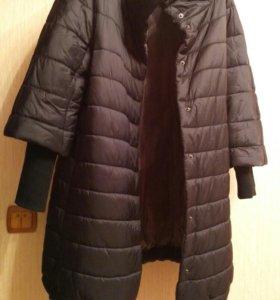 Пальто демисезонное на синтепоне