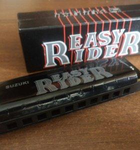 Губная гармошка (Easy Rider) черная
