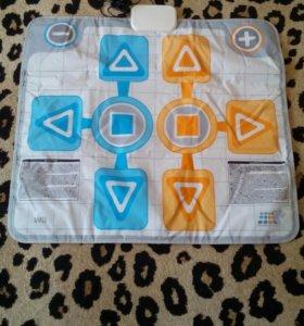 Танцевальный коврик Wii dance