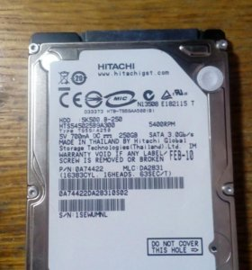 Hdd hitachi