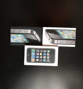 Коробки на iPhone 4, 4s, 3gs