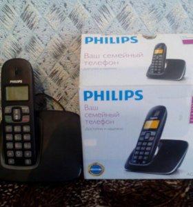 Беспроводной телефон. Новый