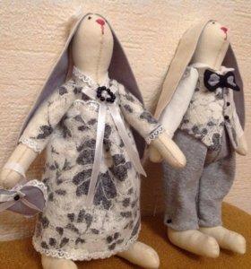 Пасхальные кролики на заказ