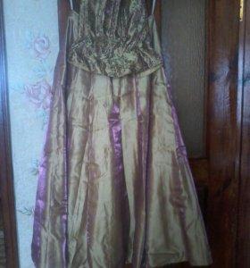 Платье бальное ( корсет -юбка)