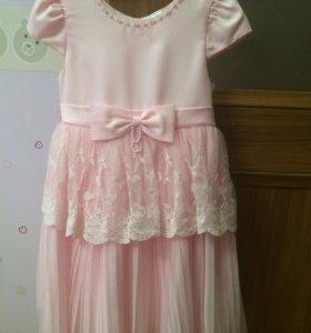 Платье + накидка рост 110 см