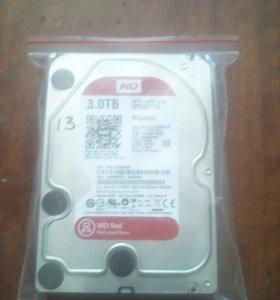 Жесткий диск 3 TB, WD Red, WD30EFRX