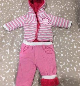 Детский костюм для малышки, очень тёплый