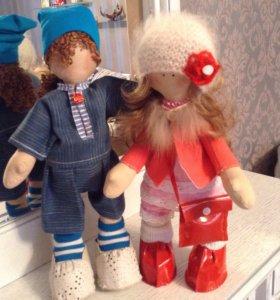 Интерьер над кукла