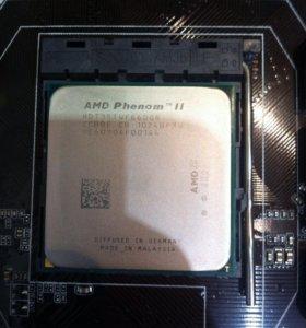 AMD Phenom II X6 + GIGABYTE GA-78LMT-S2+...