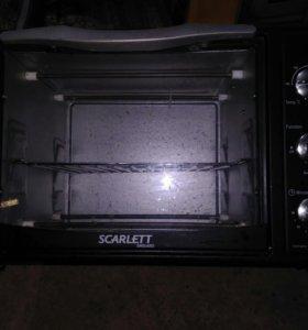 Мини-печь scarlett