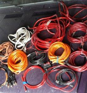 Продаю провода 2х, 4х канальные
