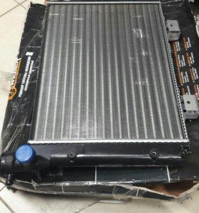 Радиатор ВАЗ-2107 алюминиевый  2107-1301012